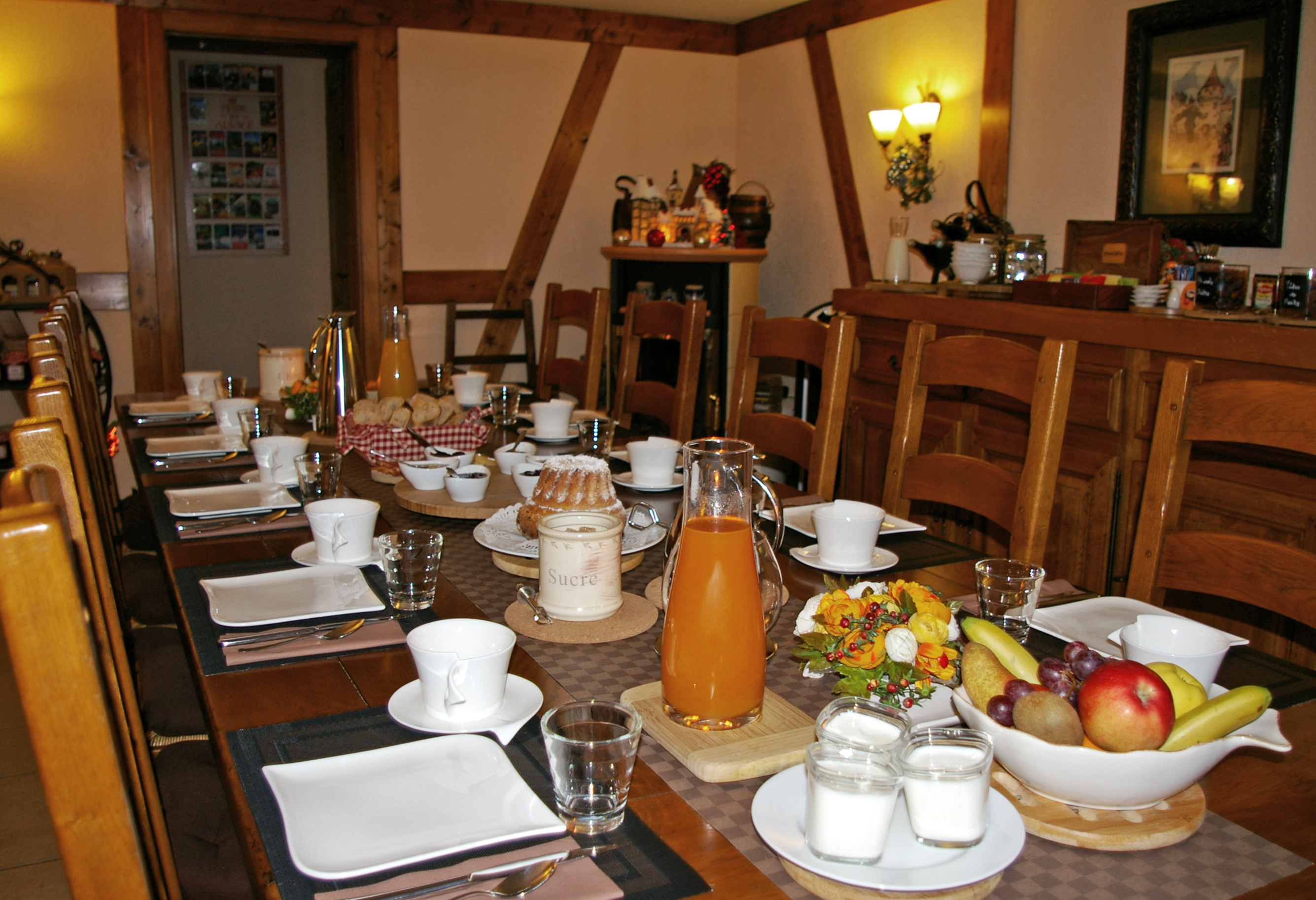 The Breakfast Charming Bed and Breakfast in Alsace on the Wine