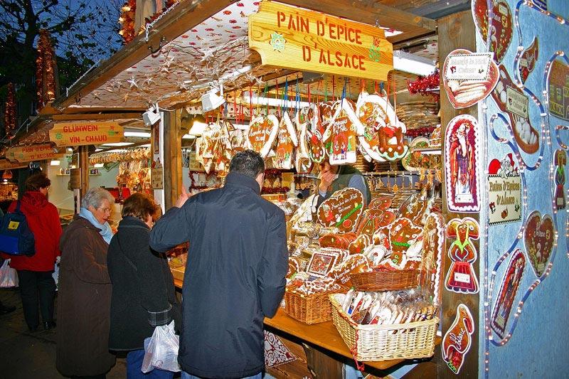 Strasbourg Mulhouse Noël Clos des raisins